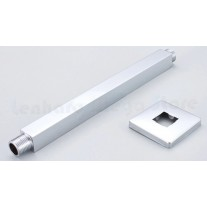 Braço de Metal Cromado para Ducha de teto 30 cm - LMS-HA11