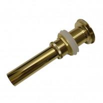 Ralo / Válvula Click Inteligente em Metal Dourado Para Cubas De Vidro E Louça - LMS-LH8163G
