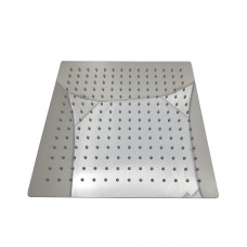 Ducha Ultra Slim de Aço Inox - 30cm x 30cm - Cromada - LMS-003-304