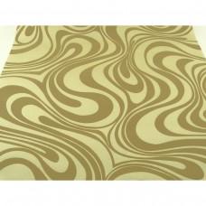 Papel de Parede - Lindo desenho Amarelo com Dourado - Rolo com 8,4m x 70cm - LMS-PPY-YW99-1620328