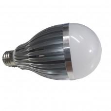 Lâmpada Led com Corpo de Metal e Bulbo - 12 watts (12w) - Branco Frio - 24 volts (24v)