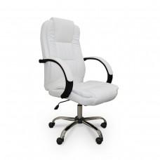 Cadeira para Escritório Giratória - Branca - LMS-GU-Y-2848