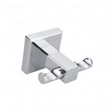 Porta Toalha Gancho / Toalheiro em Metal Cromado - Acabamento Quadrado - LMS-AB8904