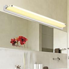 Luminária Arandela LED Reta para Espelhos - 9w - 40 cm - Branco Quente - LMS-CLLR-9-40BQ