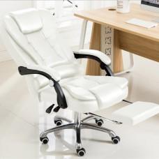 Cadeira para Escritório Giratória com apoio para os pés Big Boss - Branca - LMS-BE-8436-T3