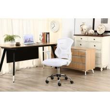 Cadeira Secretária Executiva Telada com Apoio para Braços BRANCA - LMS-BY-2034