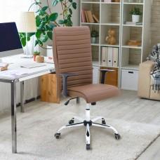 Cadeira para Escritório Premium da Lenharo - Marrom / Chocolate - Super Confortável