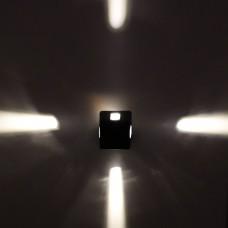 Luminária Arandela - Branco Quente - Área Interna e Externa - 3 Watts - LMS-CH-86