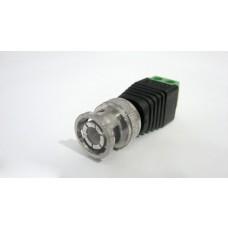 Kit com 10 Conectores BNC Macho com Borne - CFTV