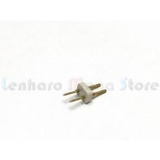 Kit com 5 Conectores de emenda para fita led 3528 sem silicone - 110v e 220v