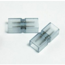 Kit com 5 Conectores de emenda para fita led 5050 COM SILICONE - 110v e 220v