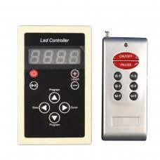 Controlador para fita led Dream Color com controle remoto RF