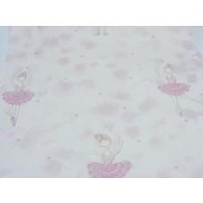 Papel de Parede - Rosa Claro com Desenhos Infantis - Rolo com 10m x 53cm - LMS-PPY-YWC16-EN27002