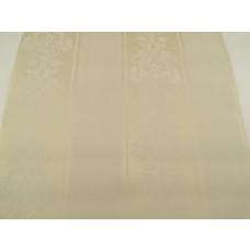Papel de Parede - Creme com Desenhos Variados em Branco - Rolo com 10m x 53cm - LMS-PPD-370304