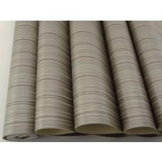 Papel de Parede Lavável - Marrom e cobre com Listras - Rolo 10m x 53cm - LMS-PPY-121405