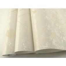 Papel de Parede Lavável - Creme Claro com Texturas em Creme - LMS-PPD-715001
