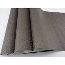 Papel de Parede Lavável - Marrom com Texturas - Rolo 10m x 53cm - LMS-PPY-121607