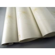 Papel de Parede - Creme Claro com Detalhes em Marfim - Rolo com 10m x 53cm - LMS-PPY-901