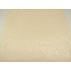 Papel de Parede Lavável - Marfim Claro com Arabescos - Rolo com 10m x 53cm  - LMS-PPD-703003