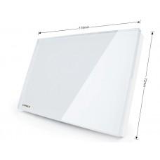 Espelho Cego 4x2 - Branco - Horizontal - Livolo - LMS-VL-C300-81