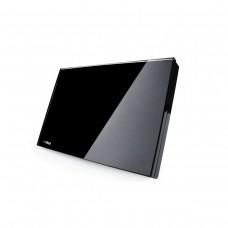 Espelho Cego 4x2 - Preto - Horizontal - Livolo - LMS-VL-C300-82