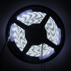 Fita LED Branco Frio (2835) - IP65 (Com camada de Silicone) - Rolo com 5 metros - 300 leds