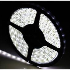 Fita LED Branco Frio (3528)  - Rolo com 5 metros - IP65 -  A Prova d´água / 60 Leds/metro