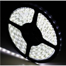 Fita LED Branco Frio (3528)  - Rolo com 5 metros - IP65 -  A Prova dágua / 60 Leds/metro