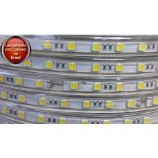 Fita LED Branco Frio e Branco Quente Bi-Color (5025) - 110v - IP68 (o metro) EXCLUSIVO - LMS-FL5025QF-110