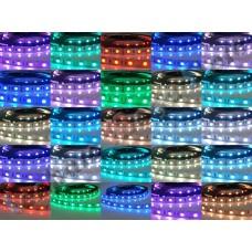 Fita LED RGB / Colorida SMD5050 - 150 leds - IP65 (Resistente a água) - Rolo com 5 metros