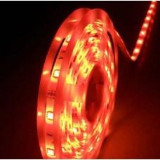 Fita LED Vermelha (5050) - IP65 (Resistente a água) - Rolo com 5 metros - 12 volts
