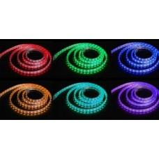 Fita LED Colorida (RGB) SMD5050 - IP68 (Resistente a água) - 220v (o metro)
