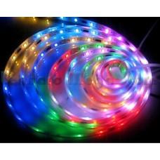 Fita LED Colorida (RGB) SMD5050 Horse Race (Corrida de Cavalo) - IP20 (Sem silicone) - 5 metros - LMS-FL5050RGB-HR