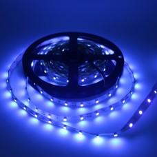 Fita LED Azul - SMD3528 - IP20 (Uso Interno) - 60 LEDs/metro - Rolo de 5 metros - Fundo Branco - LMS-FLAZ20-5M60