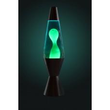 Luminária / Abajur - Lava Lamp / Lava Motion - Verde com Líquido Azul - 36 cm - 110V - Atenas - LMS-6112-SLGB
