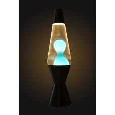 Luminária / Abajur - Lava Lamp / Lava Motion - Azul - 36 cm - 110V - Atenas - LMS-6112-SLBT