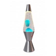 Luminária / Abajur - Lava Lamp / Lava Motion - Azul - 36 cm - 220V - Atenas - LMS-6112-SLBT