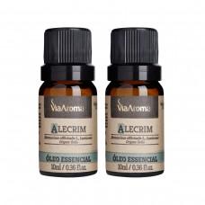 Kit com 2 Óleo Essencial de Alecrim - Via Aroma - LMS-VA-OL10-ALCM