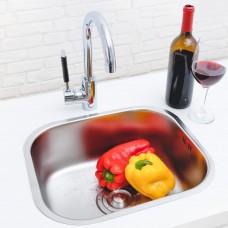 Kit Cuba em Inox para Cozinha - Linha Clean - LMS-FSH-611T