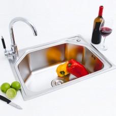 Kit Cuba em Inox para Cozinha - Linha Diamond - LMS-FSH-659-S