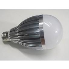 Lâmpada Led com Corpo de Metal e Bulbo - 12 watts (12w) - Branco Frio - 12 volts (12v) - LMS-LMP12BF-12V