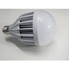 Lâmpada Led com Corpo de Plástico e Bulbo - 18 watts (18w) - Branco Frio - Bivolt
