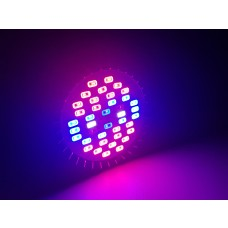 Lâmpada Led Grow indoor light - 48W - 40 leds - Bivolt - LMS-CLGB-P20-40L