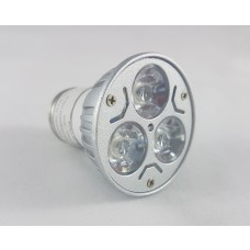 Lâmpada Led Grow - 6W - 3 Leds - Bivolt - LMS-LP2006
