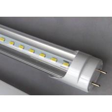 Lâmpada Led Tubular - 120 cm - 1,2 metros - 18w - 1800 Lúmens - Bivolt - Branco Frio - Acrílico Transparente - LMS-LT18W120-1800BFT