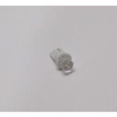 Kit com 4 Lâmpadas Pingo Côncavo T10 W5W Branco - Meia luz, Luz de posição