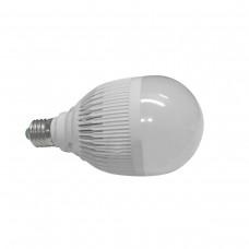 Lâmpada Led com Corpo de Plástico e Bulbo - 12 watts (12w) - Branco Quente - LMS-LMP3012