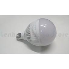 Lâmpada Led com Corpo de Plástico e Bulbo - 15 watts (15w) - Branco Quente - LMS-LMP3015