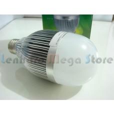 Lâmpada Led Branco Frio com bulbo - 9 watts (9w)