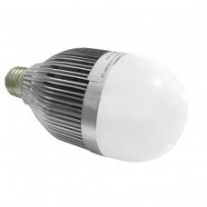 Lâmpada Led Branco Quente com bulbo - 12 watts (12w)